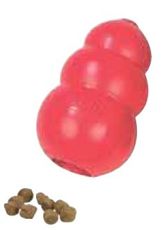 KONG Original veľkosť:L, červený