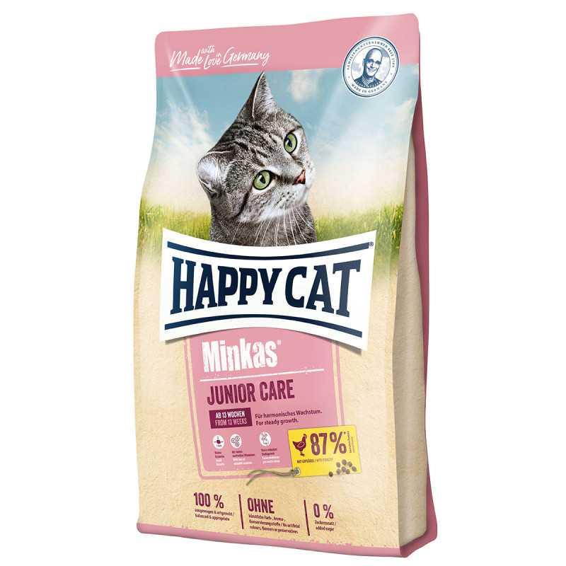 Happy Cat Minkas Junior Care 1,5kg od 13.týždňa