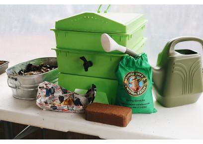Urobte si kvalitný kompost z dážďoviek